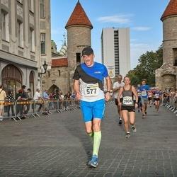 Tallinna Maratoni Sügisjooks 10 km - Aare Randma (577), Virpi Taipale (3904)