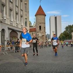Tallinna Maratoni Sügisjooks 10 km - Kristian Esula (418), Ago Lilleorg (468)