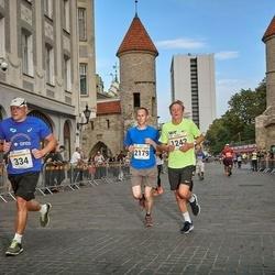 Tallinna Maratoni Sügisjooks 10 km - Veiko Tarm (334), Mark Robin Kaarma (1242), Aleksei Panarin (2179)