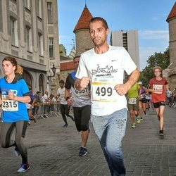 Tallinna Maratoni Sügisjooks 10 km - Tõnu Aria (499), Cathlyn Olev (2315)