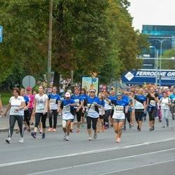 Tallinna Maratoni Sügisjooks 10 km - Viktor Goglev (1143), Ljudmilla Getman (6588), Moonika Villem (8145), Ülle Laks (8151), Alla Arefina (8200), Anna Mirotvortseva (11325), Vilja Nigu (12424)