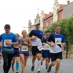 Tallinna Maratoni Sügisjooks 10 km - Inno Stroom (477), Agne Kivisaar (506), Erik Pallase (655)