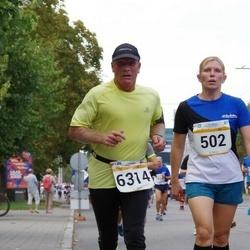 Tallinna Maratoni Sügisjooks 10 km - Kristel Turja (502), Arne Pihkva (6314)