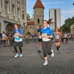 Tallinna Maratoni Sügisjooks 10 km - Elvira Dudina (1518), Agnese Lagzdina (3371)