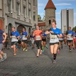 Tallinna Maratoni Sügisjooks 10 km - Merle Salmistu (4154), Agnes Aguraiuja (4681)