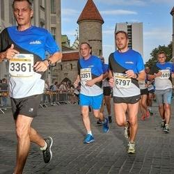 Tallinna Maratoni Sügisjooks 10 km - Jan Sudzina (3351), Branislav Koniar (3361), Vahur Vahemets (6797)