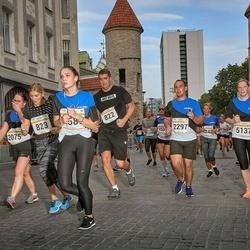 Tallinna Maratoni Sügisjooks 10 km - Vitali Denikin (822), Artem Morozov (2297), Sigrid Sihver (5137)