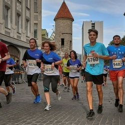 Tallinna Maratoni Sügisjooks 10 km - Raile Yoshito (4038), Tsubasa Yoshito (4876), Aaron Thor Härm (6760), Gennadi Izmestjev (9482)