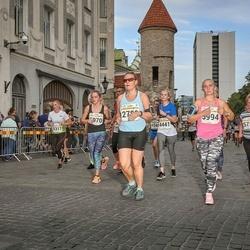 Tallinna Maratoni Sügisjooks 10 km - Annika Suup (4317), Aili Hiisku (4441), Laivi Joarand (5750), Evely Metsniit (5970), Janika Silliksaar (5994)