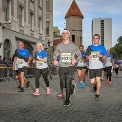 Tallinna Maratoni Sügisjooks 10 km - Kristjan Kalla (1831), Arina Alektorova (2138), Mart Kalamees (5287), Rauno-Sander Ennok (5923)