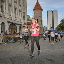 Tallinna Maratoni Sügisjooks 10 km - Anastasiya Siarheyeva (3584), Liina Jakobson (4001), Katrina Orusalu (11160)