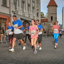 Tallinna Maratoni Sügisjooks 10 km - Anna Semenova (3967), Andres Häkkinen (8664)