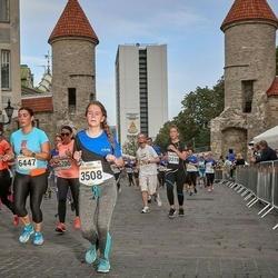 Tallinna Maratoni Sügisjooks 10 km - Jaanika Raik (3508), Anahit Adamyan (6447)