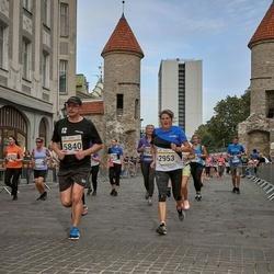 Tallinna Maratoni Sügisjooks 10 km - Anni Engelbrecht (2953), Vadim Gamanko (5840)