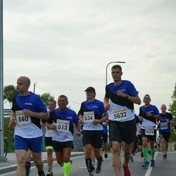 Tallinna Maratoni Sügisjooks 10 km - Jaanus Eglit (513), Aleksei Bãmtka (840), Rene Post (5632)