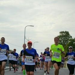 Tallinna Maratoni Sügisjooks 10 km - Annely Kaur (1136), Olle Ilmar Jaama (6709)