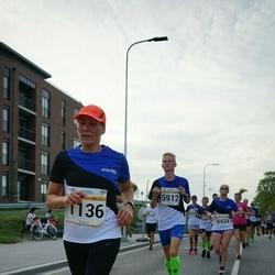 Tallinna Maratoni Sügisjooks 10 km - Annely Kaur (1136)