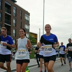 Tallinna Maratoni Sügisjooks 10 km - Marju Soonets (1148), Anna Maria Võsu (3191)