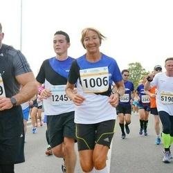 Tallinna Maratoni Sügisjooks 10 km - Annelii Eglit (1006), Jaanus Juhanson (1069)