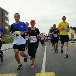 Tallinna Maratoni Sügisjooks 10 km - Irma Jäe (1594), Branislav Koniar (3361)