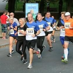 Tallinna Maratoni Sügisjooks 10 km - Janek Kupper (553), Aadu Polli (562)