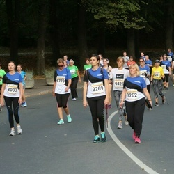 Tallinna Maratoni Sügisjooks 10 km - Anna Kolossova (2369), Pille Oja (3262)