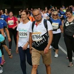 Tallinna Maratoni Sügisjooks 10 km - Aap Virves (9766), Karin Lepmets (12226)