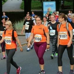 Tallinna Maratoni Sügisjooks 10 km - Marianna Jaanimägi (9107), Jekaterina Trunin (9108), Anna Zaskaleta (9109)