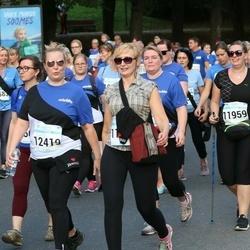 Tallinna Maratoni Sügisjooks 10 km - Agnieszka Mozejko-Vuollet (11959), Jenni Juvonen (12419)