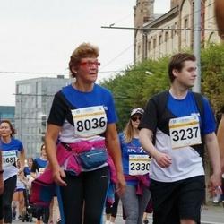 Tallinna Maratoni Sügisjooks 10 km - Anders Gjerde Sørbotten (3237), Anu Ukkivi (8036)