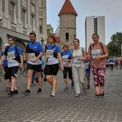 Tallinna Maratoni Sügisjooks 10 km - Anu Elmi (3230), Henrik Steen Kristiansen (3235), Anders Gjerde Sørbotten (3237), Oksana Tsibernaja (10950), Natalja Kaasik (12566)