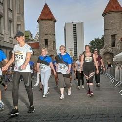 Tallinna Maratoni Sügisjooks 10 km - Anna Västrik (9126), Annemari Sepp (9465), Marge Tensmann (10487)