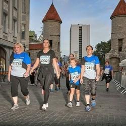 Tallinna Maratoni Sügisjooks 10 km - Maire Raja (11744), Kristiina Kindel (12163), Karina Topaasia (12323)