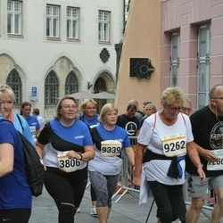 Tallinna Maratoni Sügisjooks 10 km - Anita Narusk (3806), Ilga Ööbik (9262), Ulvi Kollom (9339)