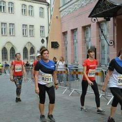 Tallinna Maratoni Sügisjooks 10 km - Ly Hein (8251), Berit Tamme (9049)
