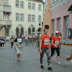 Tallinna Maratoni Sügisjooks 10 km - Anastasiia Taratynova (8721), Kira Varvarova (9048)