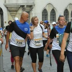 Tallinna Maratoni Sügisjooks 10 km - Toomas Tohver (726), Annika Roost (9401)