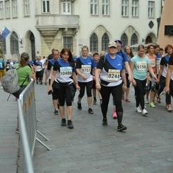 Tallinna Maratoni Sügisjooks 10 km - Merike Arula (8544), Anita Teearu (10486)