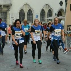 Tallinna Maratoni Sügisjooks 10 km - Triin Hindrikus (9698), Birgit Veermäe (9699), Marta Meriloo (9722)