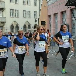 Tallinna Maratoni Sügisjooks 10 km - Sanita Liepina (9726), Andra Sõmer (11341)