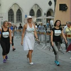 Tallinna Maratoni Sügisjooks 10 km - Aali Lilleorg (12274), Heli Võsumets (12275)