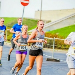 Tallinna Maratoni Sügisjooks 10 km - Agne Kivisaar (506), Liis Grete Atonen (731)