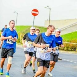 Tallinna Maratoni Sügisjooks 10 km - Sven Jensen (295), Arturs Barscevskis (3788)