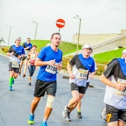 Tallinna Maratoni Sügisjooks 10 km - Ülo Metsar (510), Arturs Barscevskis (3788)