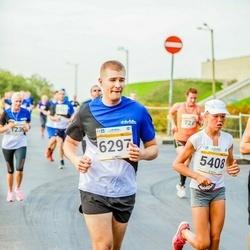 Tallinna Maratoni Sügisjooks 10 km - Adele Tamberg (5408), Dalton Glisson (6297)