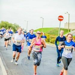 Tallinna Maratoni Sügisjooks 10 km - Björn Moritz (569), Marika Laidvere (1980)