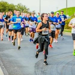 Tallinna Maratoni Sügisjooks 10 km - Anastasia Sakova (394), Janek Mänd (1238)