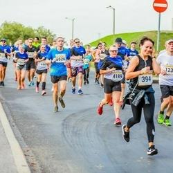 Tallinna Maratoni Sügisjooks 10 km - Paula Wright (4189), Arnold Viinamäe (5526)