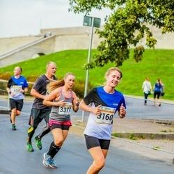 Tallinna Maratoni Sügisjooks 10 km - Auliki Kaldamäe (3160), Agnese Lagzdina (3371)