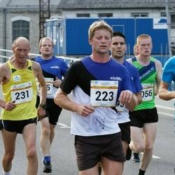 Tallinna Maratoni Sügisjooks 10 km - Aarne Nirk (178), Raigo Rõõmussar (223), Kuldar Kotkas (231)